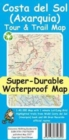 Costa del Sol (Axarquia) Tour and Trail Super-Durable Map - Book