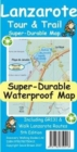 Lanzarote Tour & Trail Super-Durable Map - Book