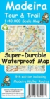 Madeira Tour & Trail Super-Durable Map - Book