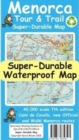 Menorca Tour & Trail Super-Durable Map (7th edition) - Book