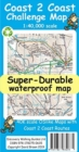 Coast 2 Coast Super-Durable Challenge Map - Book