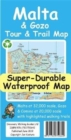 Malta and Gozo Tour and Trail Super-Durable Map - Book