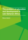 The problem of education and development in sub-Saharan Africa - eBook
