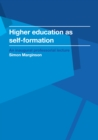 Higher education as self-formation - eBook