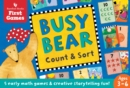 Busy Bear Count and Sort Game - Book