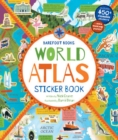 World Atlas Sticker Book - Book