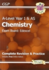 A-Level Chemistry: Edexcel Year 1 & AS Complete Revision & Practice with Online Edition - Book