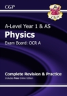 A-Level Physics: OCR A Year 1 & AS Complete Revision & Practice with Online Edition - Book