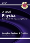 A-Level Physics: OCR B Year 1 & 2 Complete Revision & Practice with Online Edition - Book