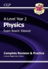 A-Level Physics: Edexcel Year 2 Complete Revision & Practice with Online Edition - Book