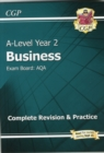 A-Level Business: AQA Year 2 Complete Revision & Practice - Book