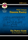 New Grade 9-1 GCSE English Literature WJEC Eduqas Unseen Poetry Guide - Book