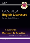 GCSE English Literature AQA Complete Revision & Practice - Grade 9-1 (with Online Edition) - Book