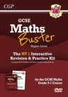 MathsBuster: GCSE Maths Interactive Revision (Grade 9-1 Course) Higher - DVD&Exam Practice Pack - Book