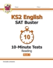 New KS2 English SAT Buster 10-Minute Tests: Reading - Book 2 (for the 2021 tests) - Book