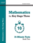 Mathematics for KS3: 10-Minute Tests - Book 2 (including Answers) - Book