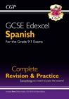 GCSE Spanish Edexcel Complete Revision & Practice (with CD & Online Edition) - Grade 9-1 Course - Book