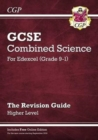 Grade 9-1 GCSE Combined Science: Edexcel Revision Guide with Online Edition - Higher - Book