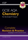 Grade 9-1 GCSE Chemistry AQA Complete Revision & Practice with Online Edition - Book