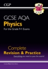 Grade 9-1 GCSE Physics AQA Complete Revision & Practice with Online Edition - Book