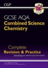 9-1 GCSE Combined Science: Chemistry AQA Higher Complete Revision & Practice with Online Edition - Book