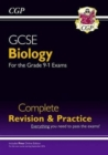 Grade 9-1 GCSE Biology Complete Revision & Practice with Online Edition - Book