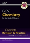 Grade 9-1 GCSE Chemistry Complete Revision & Practice with Online Edition - Book