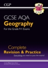 GCSE 9-1 Geography AQA Complete Revision & Practice (w/ Online Ed) -  for 2021 exams & beyond - Book