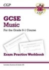 GCSE Music Exam Practice Workbook - for the Grade 9-1 Course (with Audio CD & Answers) - Book