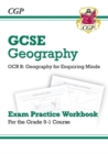 Grade 9-1 GCSE Geography OCR B: Geography for Enquiring Minds - Exam Practice Workbook - Book