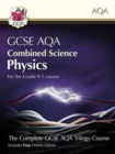 Grade 9-1 GCSE Combined Science for AQA Physics Student Book with Online Edition - Book