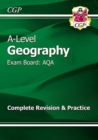 A-Level Geography: AQA Year 1 & 2 Complete Revision & Practice - Book