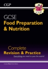 Grade 9-1 GCSE Food Preparation & Nutrition - Complete Revision & Practice (with Online Edition) - Book
