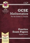 GCSE Maths Practice Papers: Higher - for the Grade 9-1 Course - Book
