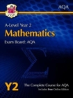 A-Level Maths for AQA: Year 2 Student Book with Online Edition - Book
