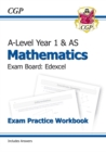 New A-Level Maths for Edexcel: Year 1 & AS Exam Practice Workbook - Book