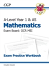 New A-Level Maths for OCR MEI: Year 1 & AS Exam Practice Workbook - Book