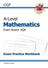 New A-Level Maths for AQA: Year 1 & 2 Exam Practice Workbook - Book