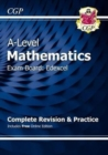 A-Level Maths for Edexcel: Year 1 & 2 Complete Revision & Practice with Online Edition - Book