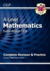 A-Level Maths for OCR: Year 1 & 2 Complete Revision & Practice with Online Edition - Book