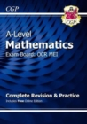 A-Level Maths for OCR MEI: Year 1 & 2 Complete Revision & Practice with Online Edition - Book