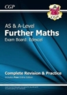 AS & A-Level Further Maths for Edexcel: Complete Revision & Practice with Online Edition - Book