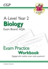 New A-Level Biology: AQA Year 2 Exam Practice Workbook - includes Answers - Book