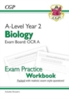 New A-Level Biology: OCR A Year 2 Exam Practice Workbook - includes Answers - Book