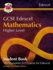 New Grade 9-1 GCSE Maths Edexcel Student Book - Higher (with Online Edition) - Book