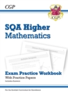 New CfE Higher Maths: SQA Exam Practice Workbook - includes Answers - Book