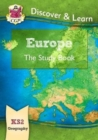 New KS2 Discover & Learn: Geography - Europe Study Book - Book