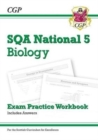 New National 5 Biology: SQA Exam Practice Workbook - includes Answers - Book