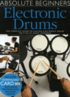 Absolute Beginners : Electronic Drums (Book/Audio Download) - Book