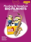 Guest Spot : Big Film Hits Playalong for Alto Saxophone (Book/Audio Download) - Book